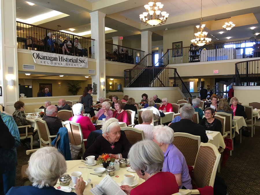 Fall luncheon at Missionwood October 2016