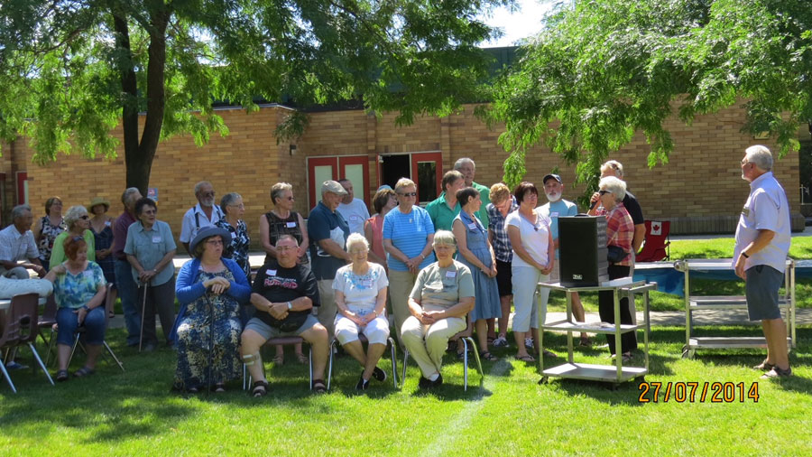 Pioneer Picnic July 2014 celebrating Rutland pioneers