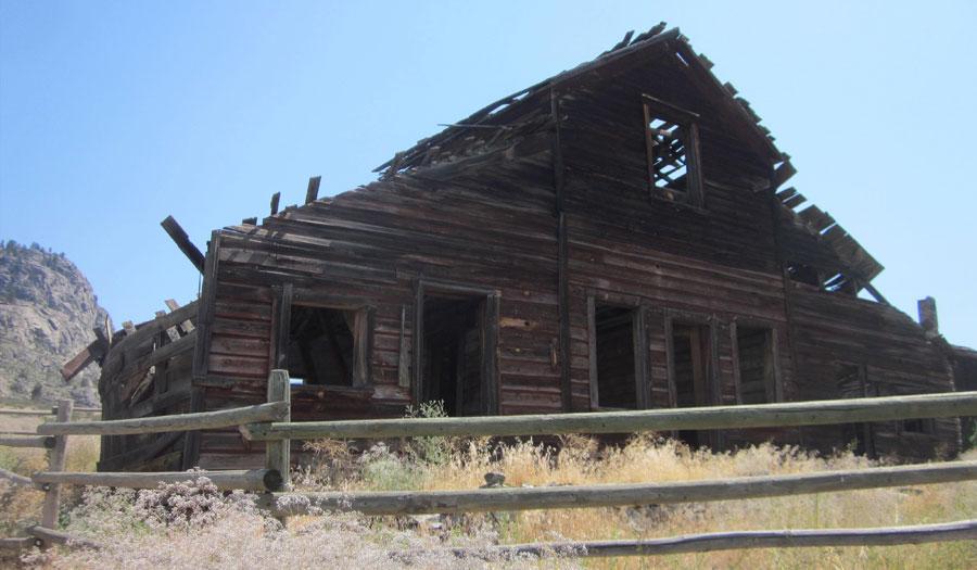 Haynes Ranch house