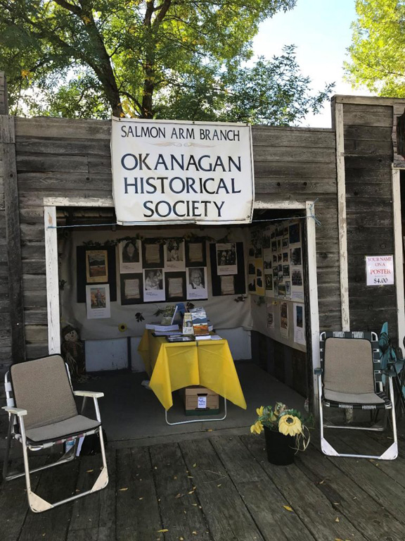 Display in Memory Lane at the Salmon Arm Fair 2019